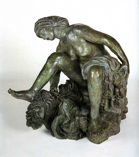 Antoine Bourdelle - Large Crouching Bather (Grande baigneuse accroupie)
