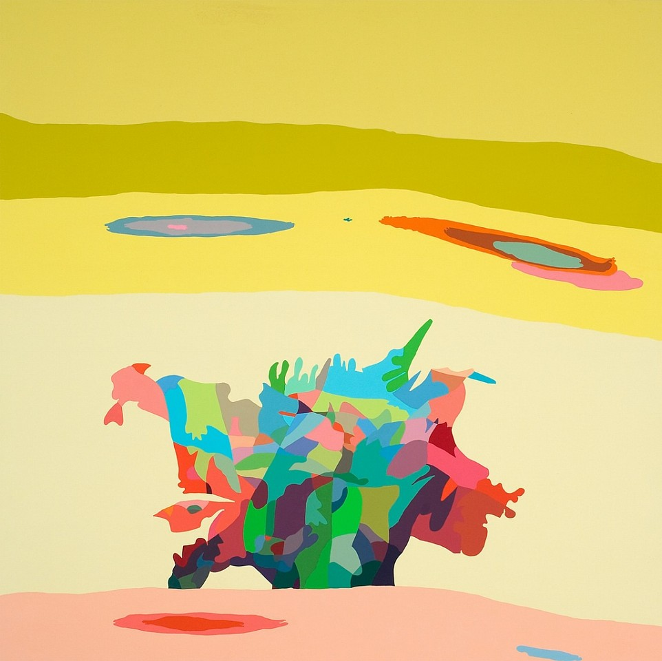 Beth Reisman ,   One Nation Under a Groove  ,  2009     Acrylic on panel ,  34 x 34 in. (86.4 x 86.4 cm)     REI-014-PA     $6,000