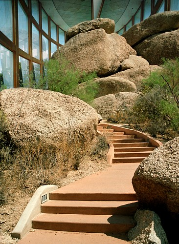Exhibition: Oliver Wasow: Exteriors and Interiors, Work: Boulders Resort, Scottsdale, Arizona