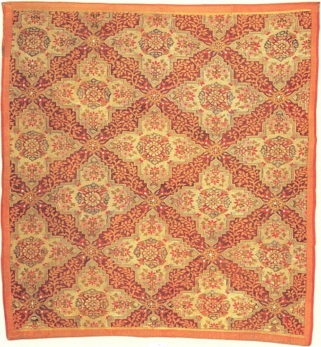 19th Century FRENCH<br/> <i>Louis-Phillipe Aubusson Fragmentary Rug</i>